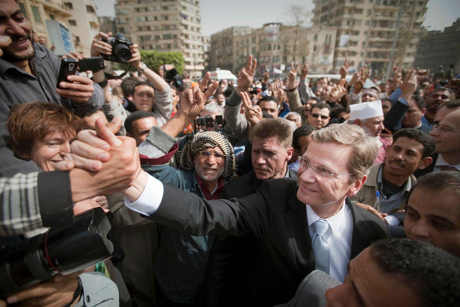 Außenminister Guido Westerwelle besucht Ägypten