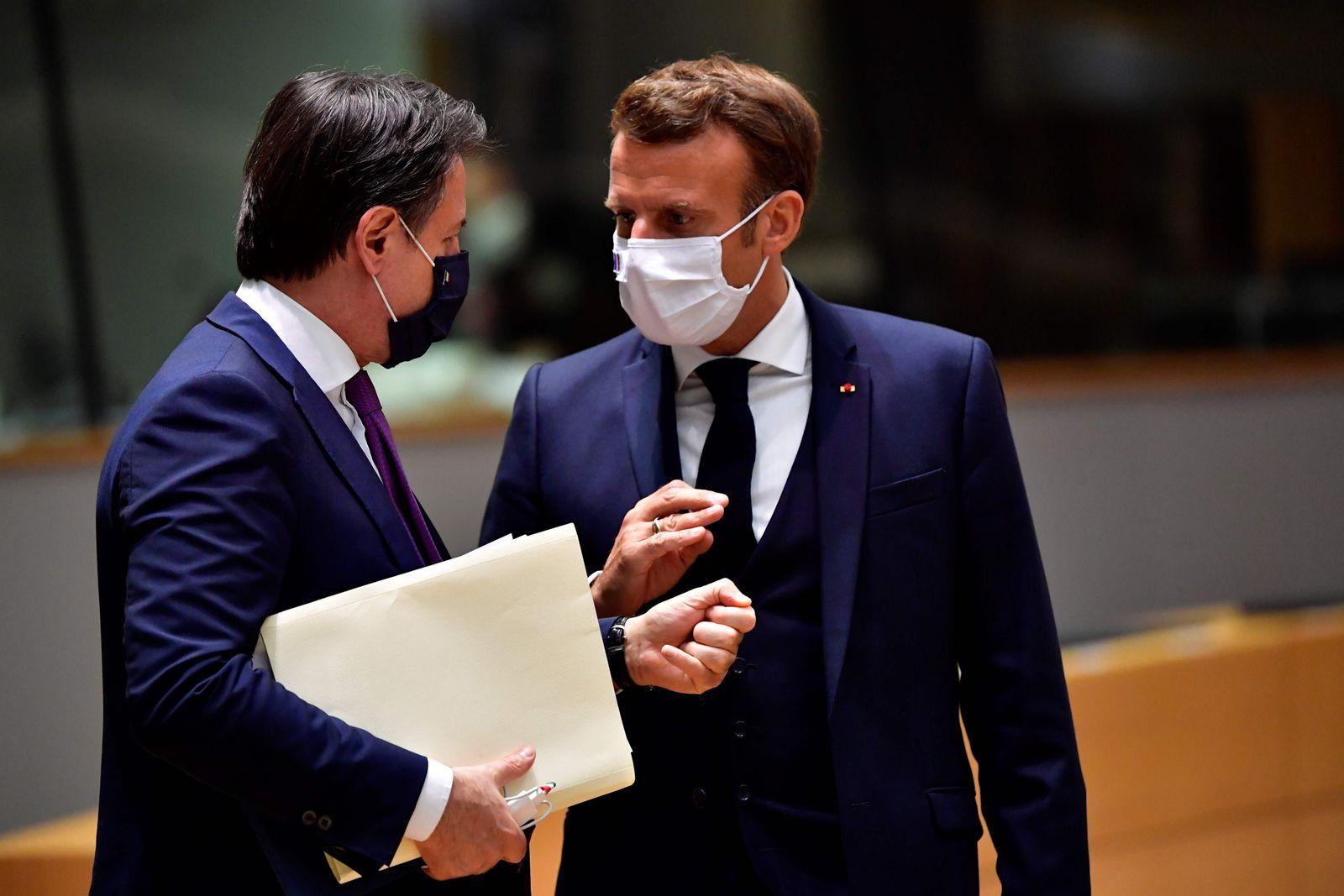 BELGIUM-EU-SUMMIT-HEALTH-VIRUS