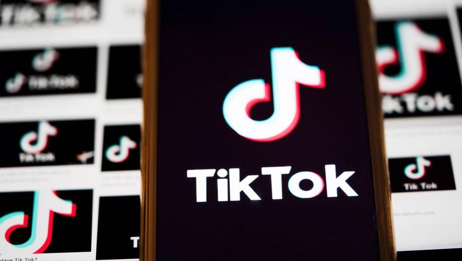 Video-App TikTok auf einem Smartphone