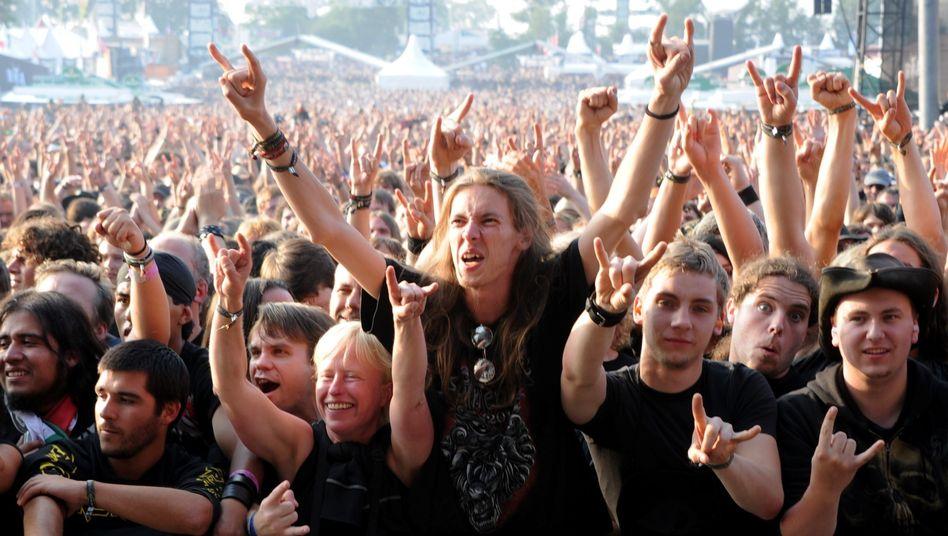 Metal-Fans in Wacken: 150 Diebstähle allein an einem Tag