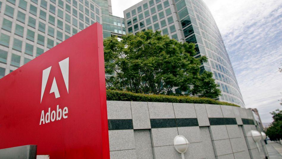 Adobe-Hauptquartier in San José, Kalifornien: Sicherheitslücke im Acrobat Reader