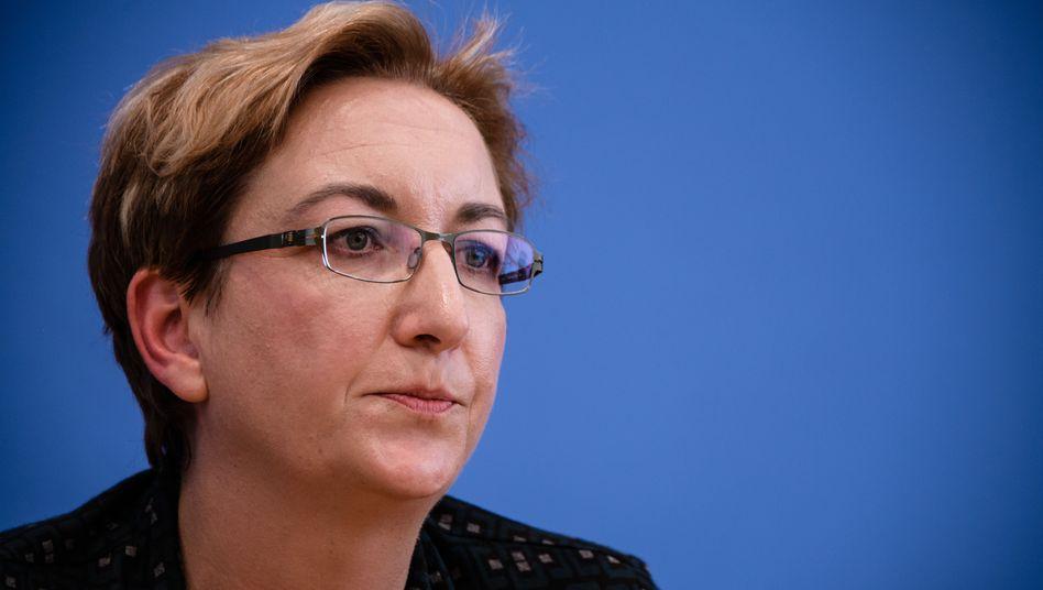 Klara Geywitz: Mit nur 177 Stimmen liegt ihre Gegenkandidatin Marie Schäffer von den Grünen vorn
