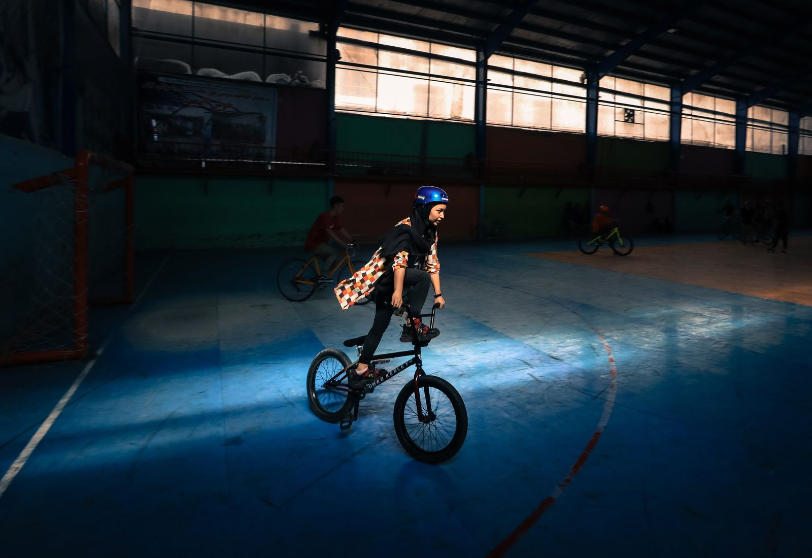 Freestyle cycling club in Kabul