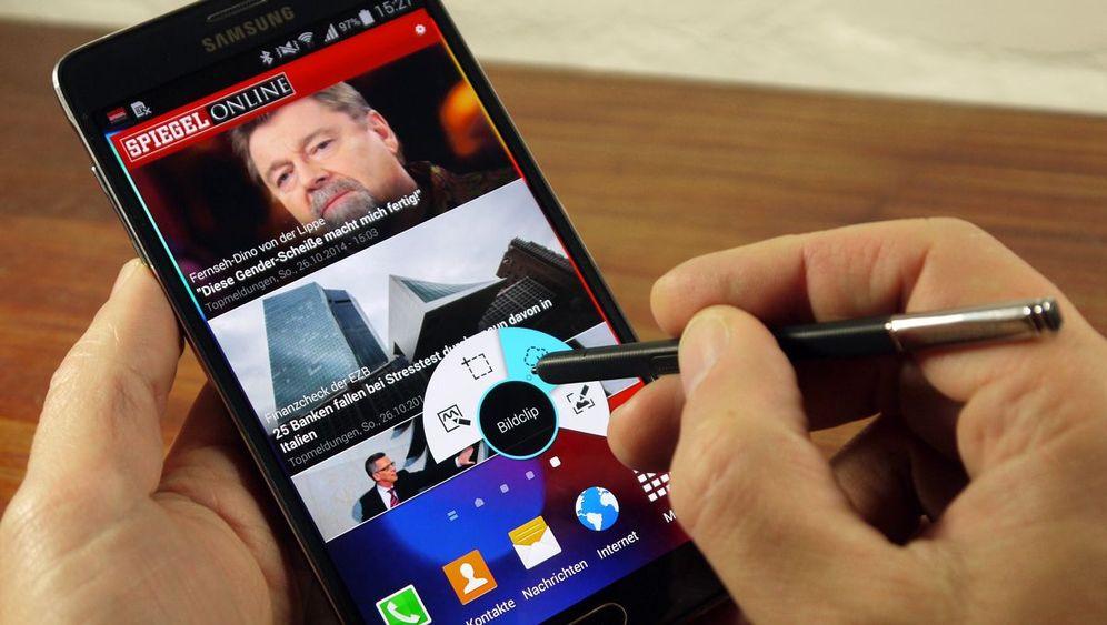 Samsung Galaxy Note 4 im Test: Mit Stift und Schnelllade-Akku