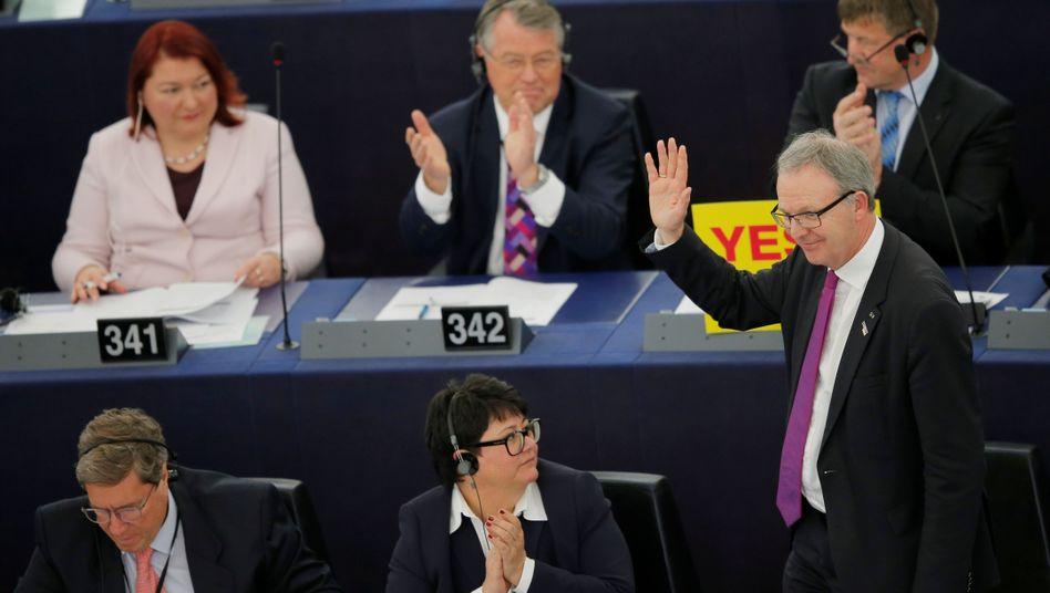 Am Ziel: Axel Voss (CDU)