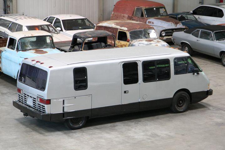 Der Vixen in der Halle des Bremer Transportunternehmens
