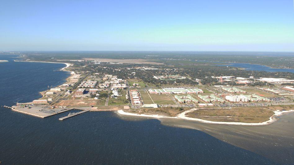 Die Marinestation in Pensacola, Florida