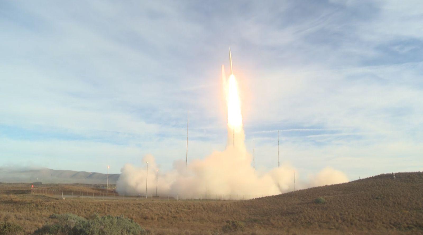 USA testen ballistische Rakete