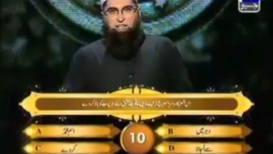 """Islamisches """"Wer wird Millionär?"""": Moderator Jamshed erinnert an einen Mullah"""