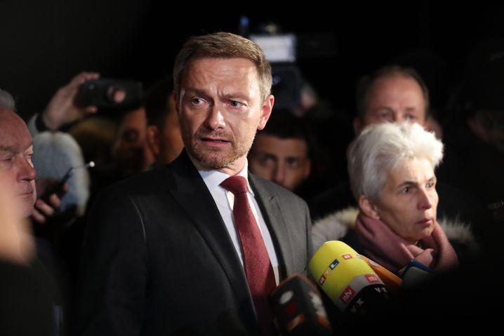 FDP-Chef Christian Lindner im November 2017: Wochenlange Sondierungen