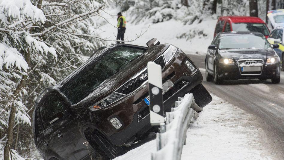 Verkehrsunfall (bei Titisee-Neustadt)