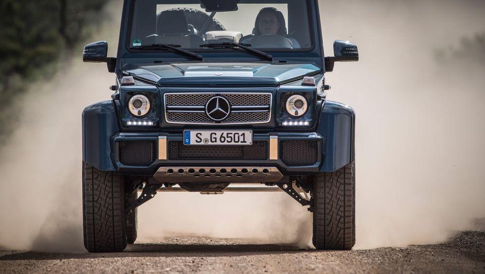 Mercedes Maybach G 650 Landaulet: Mit Heckterrasse