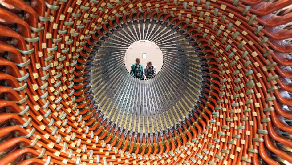 """Mitarbeiter in Generatorenwerk (bei Siemens): """"Kann ernste Herausforderung werden"""""""