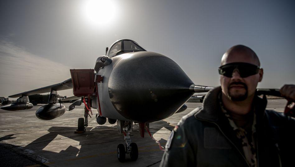 Deutschland ist Teil der Anti-IS-Koalition und unterstützt den Einsatz in Syrien aus der Luft