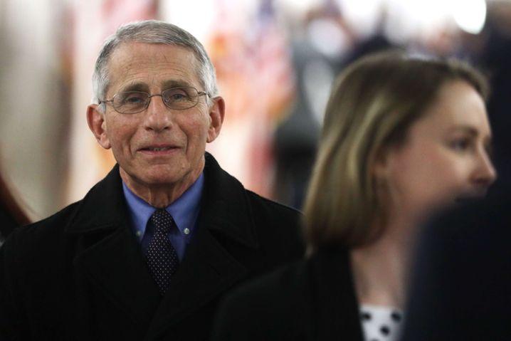 Anthony Fauci: Ein Experte, der auch dem Präsidenten widerspricht