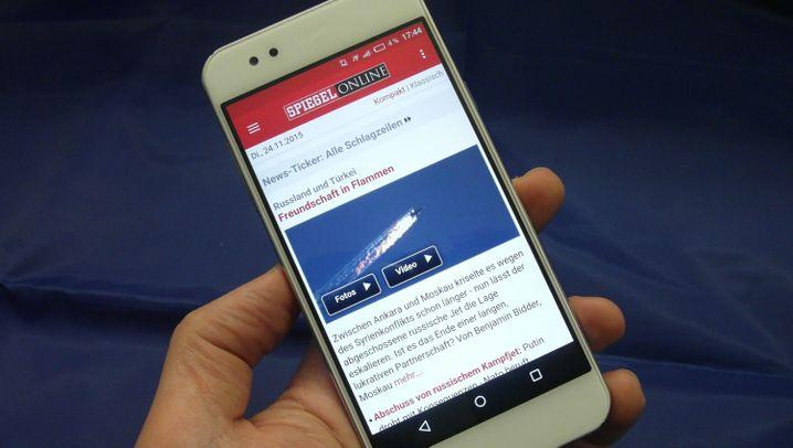 Edel-Smartphone mit Software-Macken: Gigaset ME