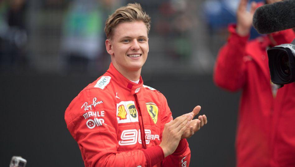 Haas-Pilot Mick Schumacher