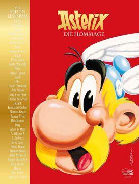 Buchcover Asterix - Die Hommage