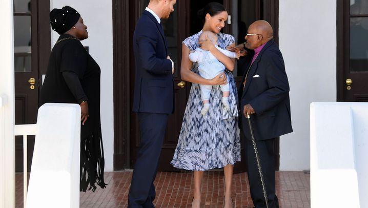Harry und Meghan zeigen ihren Sohn: Hallo, Baby Archie!