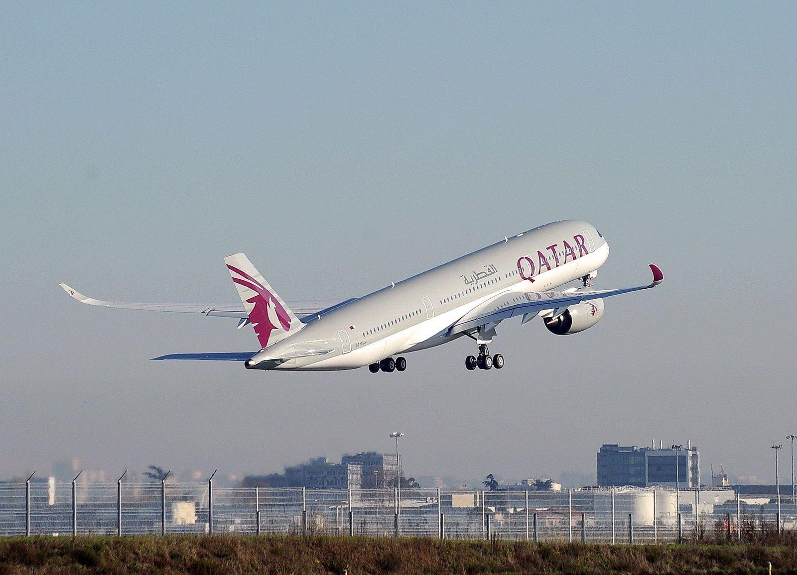 Katar/ Unternehmen/ Airbus/ A350/ Quatar (Kopie)