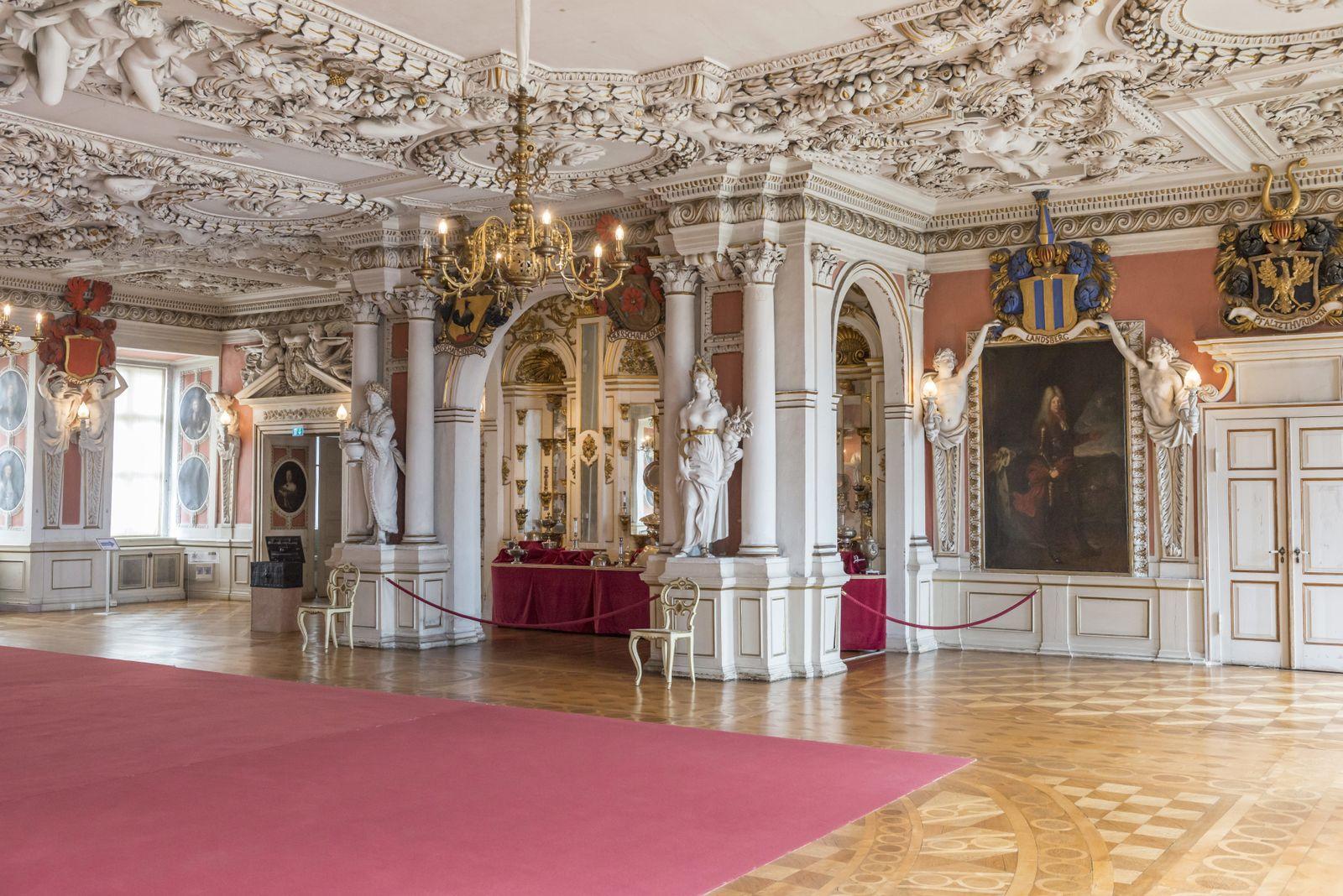 EINMALIGE VERWENDUNG Schloss Gotha