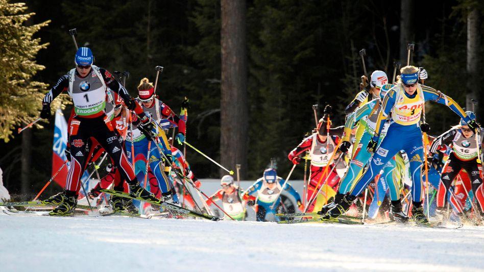 Biathlon-Staffel bei der WM: Ukraine wegen Dopings aufgeflogen