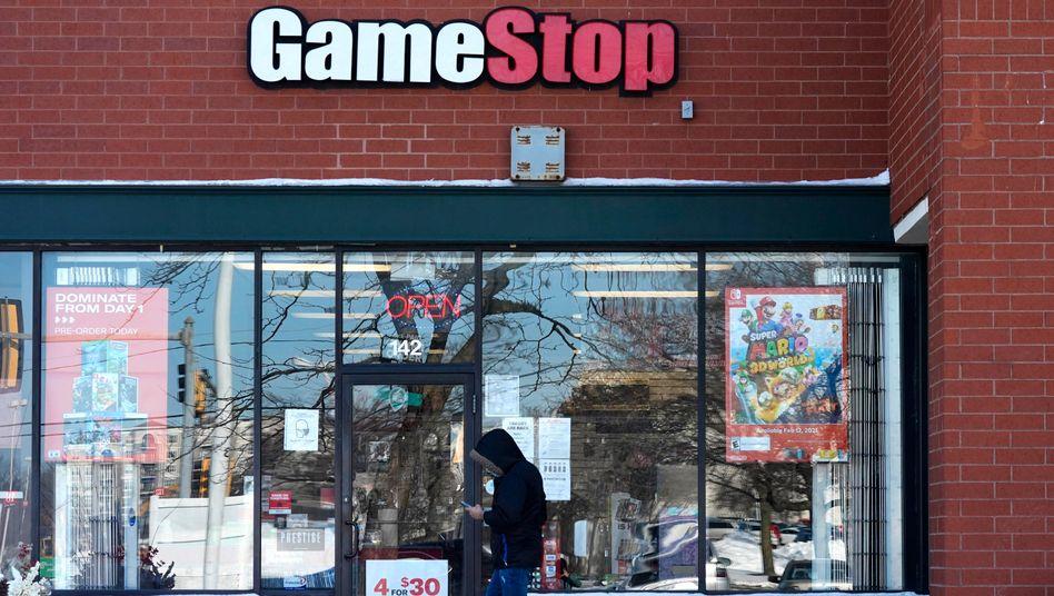 GameStop-Filiale im US-Bundesstaat Illinois: Anhörungen »zum Zustand des Aktienmarkts« angekündigt
