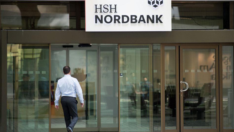Zentrale der HSH Nordbank in Hamburg.