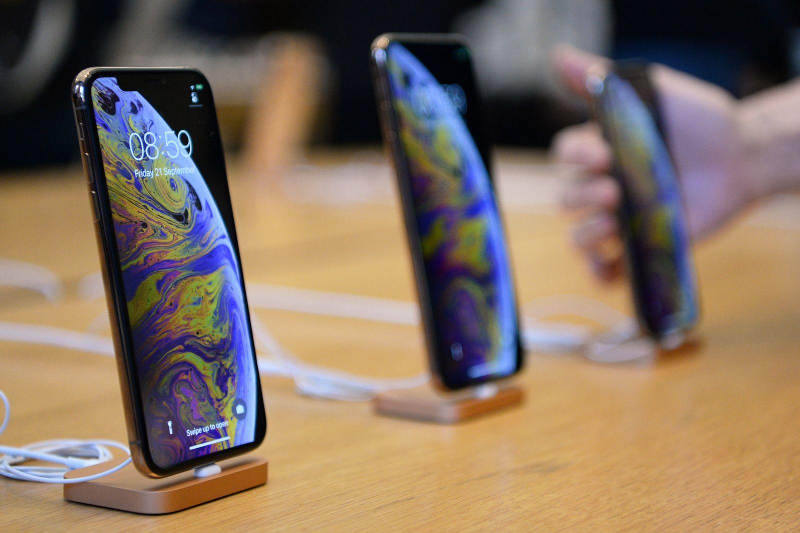 Apple-iPhone XS und XS Max Verkaufsstart in London