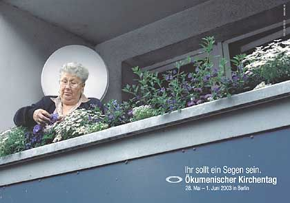 Werbung für den Kirchentag ist vielleicht nicht gerade der Traum jedes Werbers, aber die Agentur Scholz & Friends machte daraus...