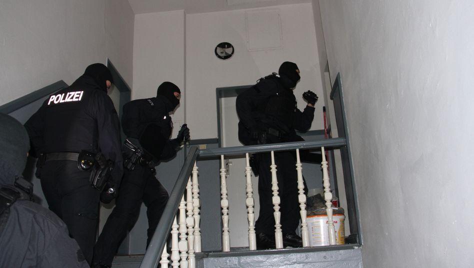 Einsatzkräfte der Bundespolizei in Wilhelmshaven