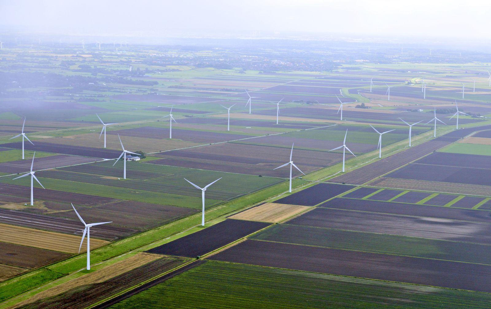 Windpark / Windkraft / Windenergie / Windräder