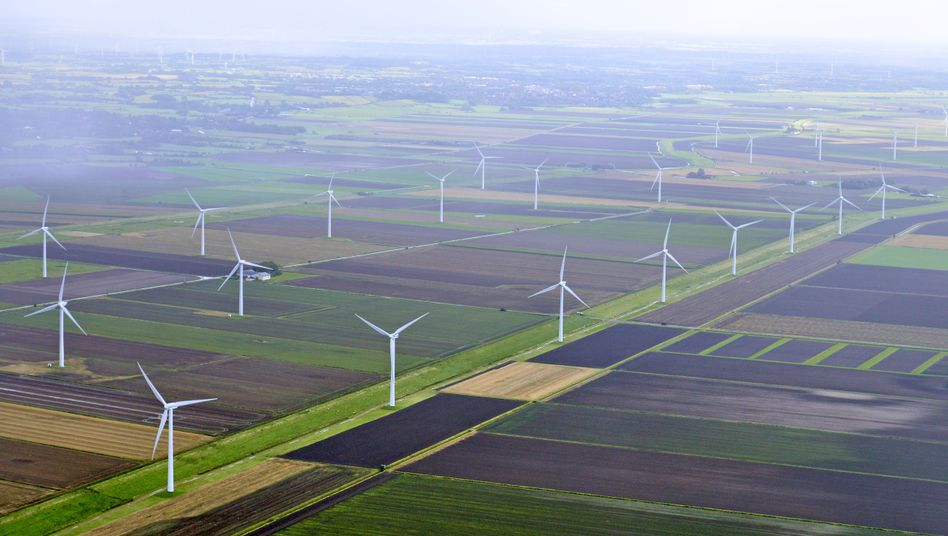 Windräder nahe Husum: Firmen sollen bei Überlastung der Netze helfen