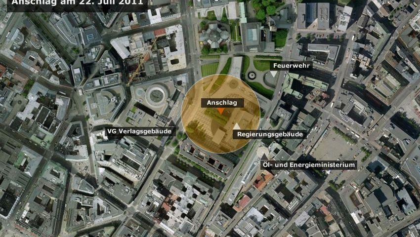 Norwegen: Bombenexplosion erschüttert Zentrum von Oslo
