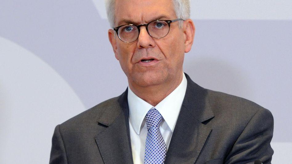 Der ZDF-Intendant Thomas Bellut spricht in Berlin über den neuen Jugendkanal