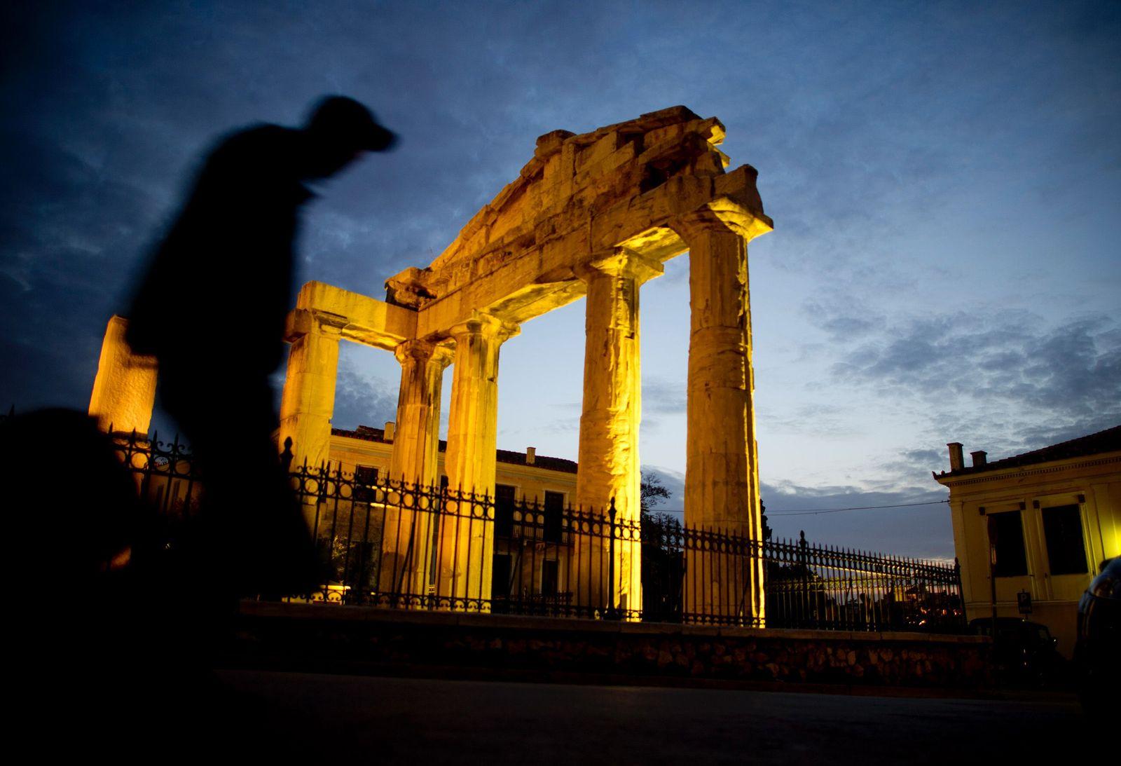 NICHT VERWENDEN Griechenland / Finanzkrise / Bettler