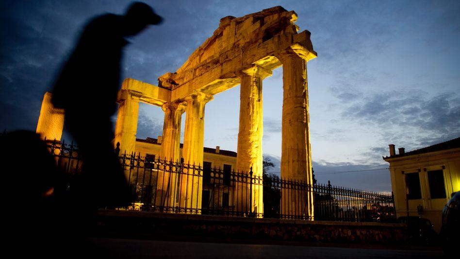 Bettler in Athen: Schuldenkrise verschärft sich