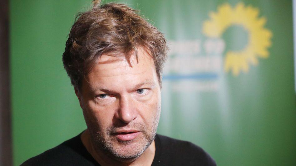 Grünen-Chef Robert Habeck: Kritisiert er, was er als Landesminister selbst vertrat?