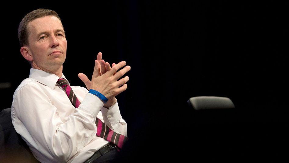 Bernd Lucke (im Juli 2015 beim Parteitag der AfD)