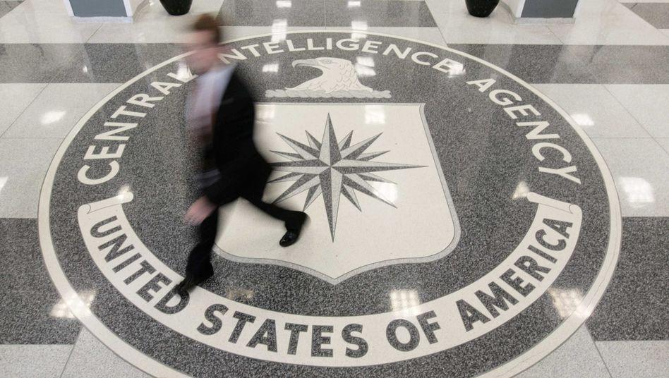 CIA-Fußbodenschmuck in der Zentrale: Rechenkraft von Amazon