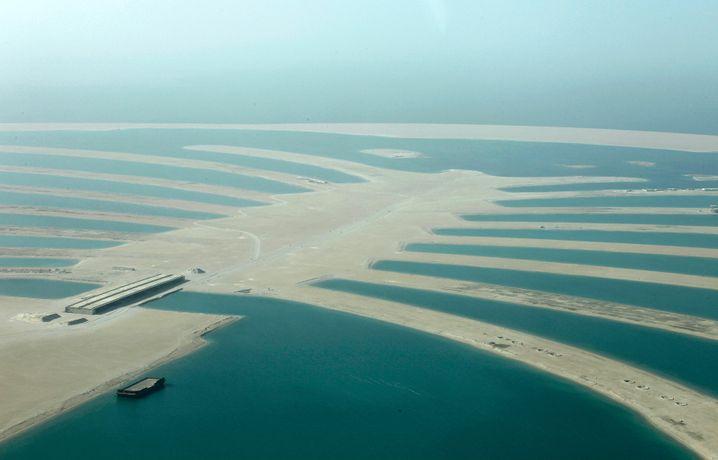 Künstliche Insel The Palm Jebel Ali: Aufgeschüttet, aber menschenleer