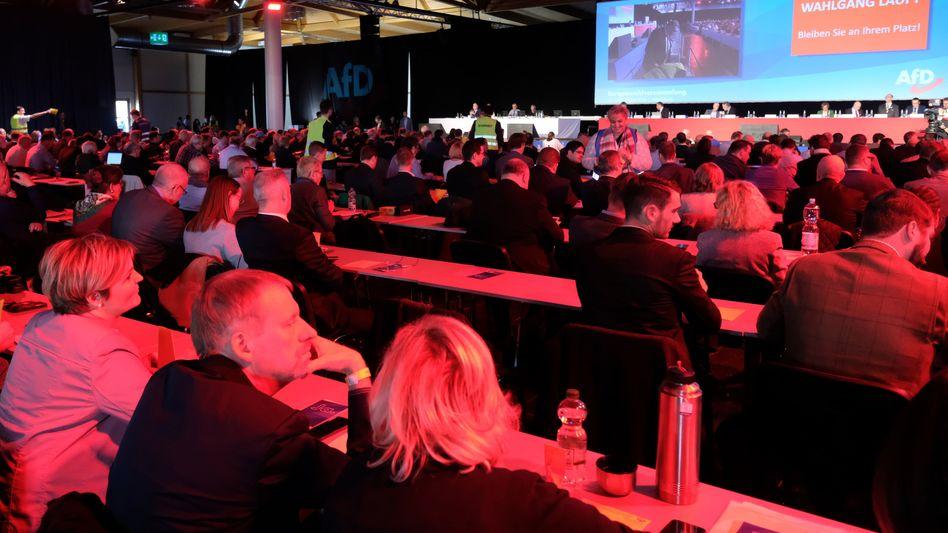 AfD-Europawahlversammlung in Magdenburg