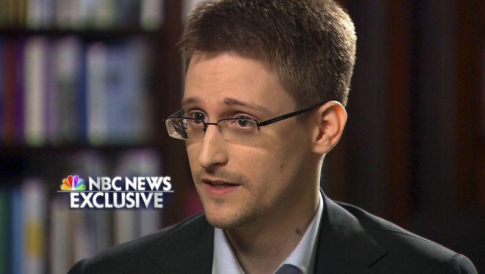 Snowden im NBC-Interview: NSA will keine Beschwerden erhalten haben