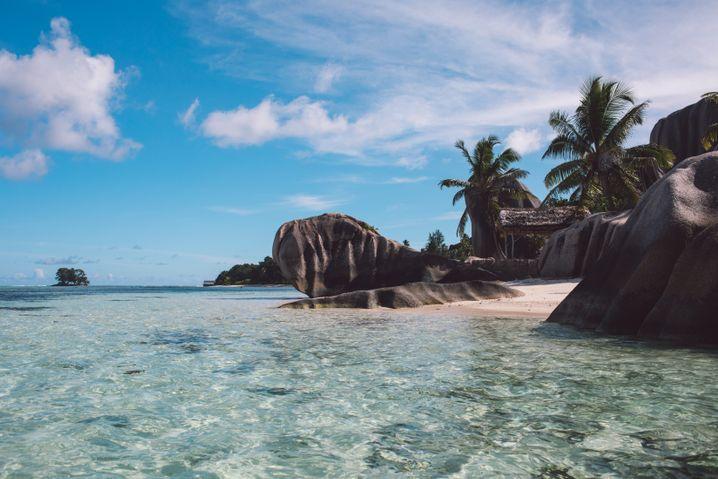 """Strand auf den Seychellen: """"Sie haben sich gefreut, dass wir da waren"""""""