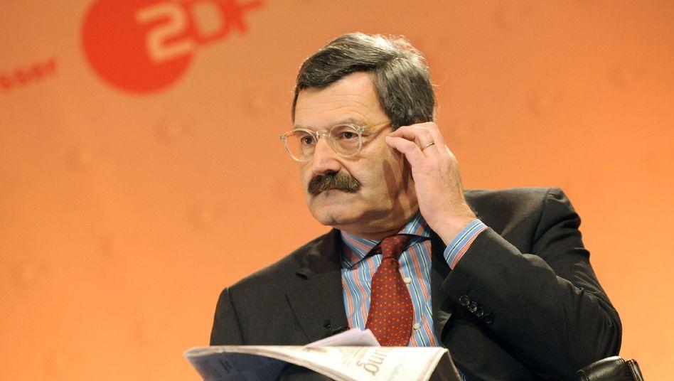 ZDF-Chefredakteur Nikolaus Brender: Am Freitag wird über seinen Vertrag entschieden.