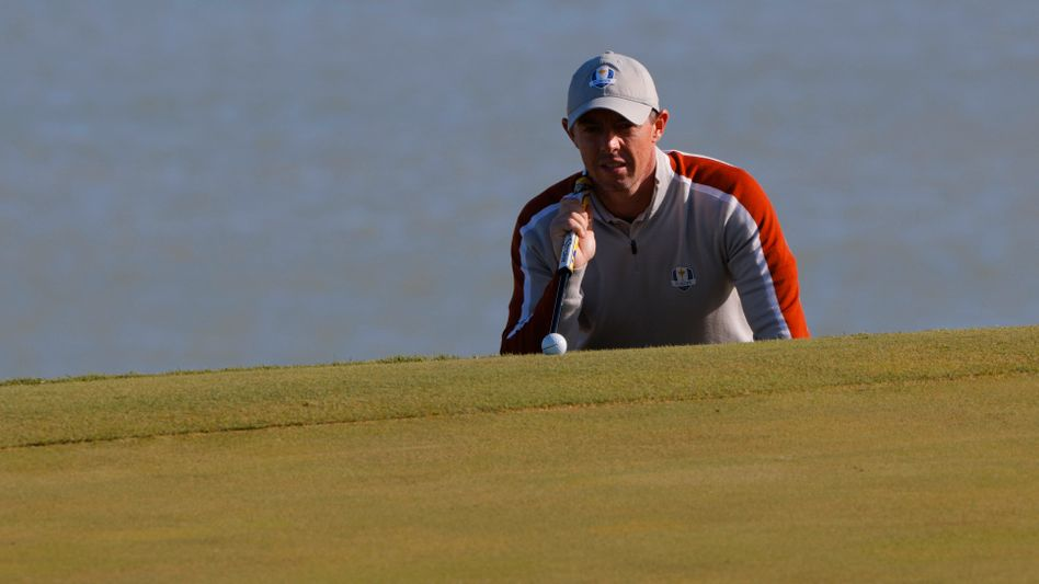 Rory McIlroy beim Ryder Cup in Sheboygan am Michigansee