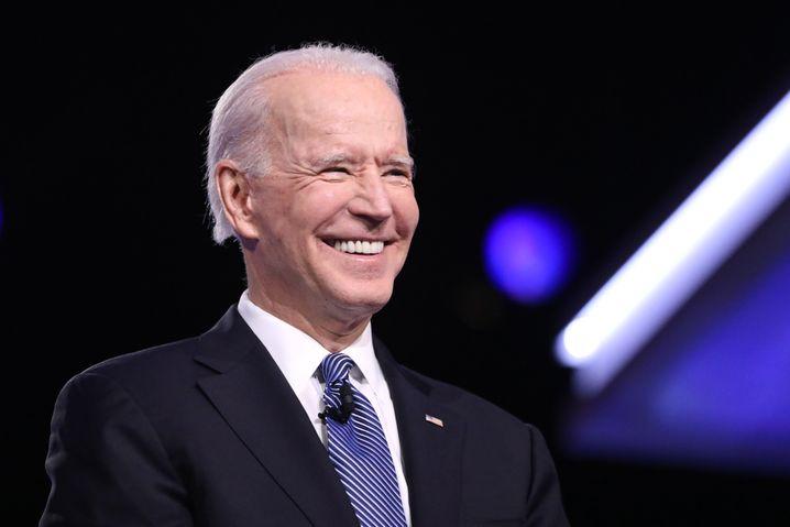 """Joe Biden: Für den Ex-Vizepräsidenten zählt Whitmer zu den """"talentiertesten Leuten im Land"""""""