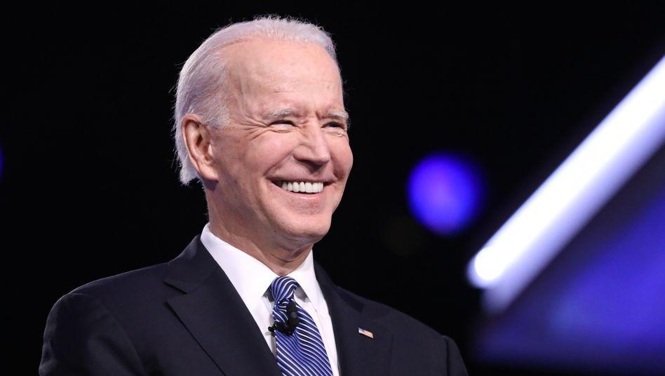 Joe Biden (am 25. Februar in South Carolina): In Florida zeichnet sich ein deutlicher Sieg ab