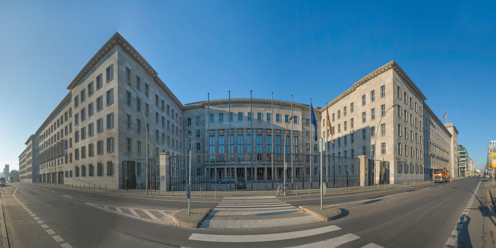 Bundesministerium der Finanzen, Wilhelmstraße, Mitte, Berlin, Deutschland *** Federal Ministry of Finance, Wilhelmstraß