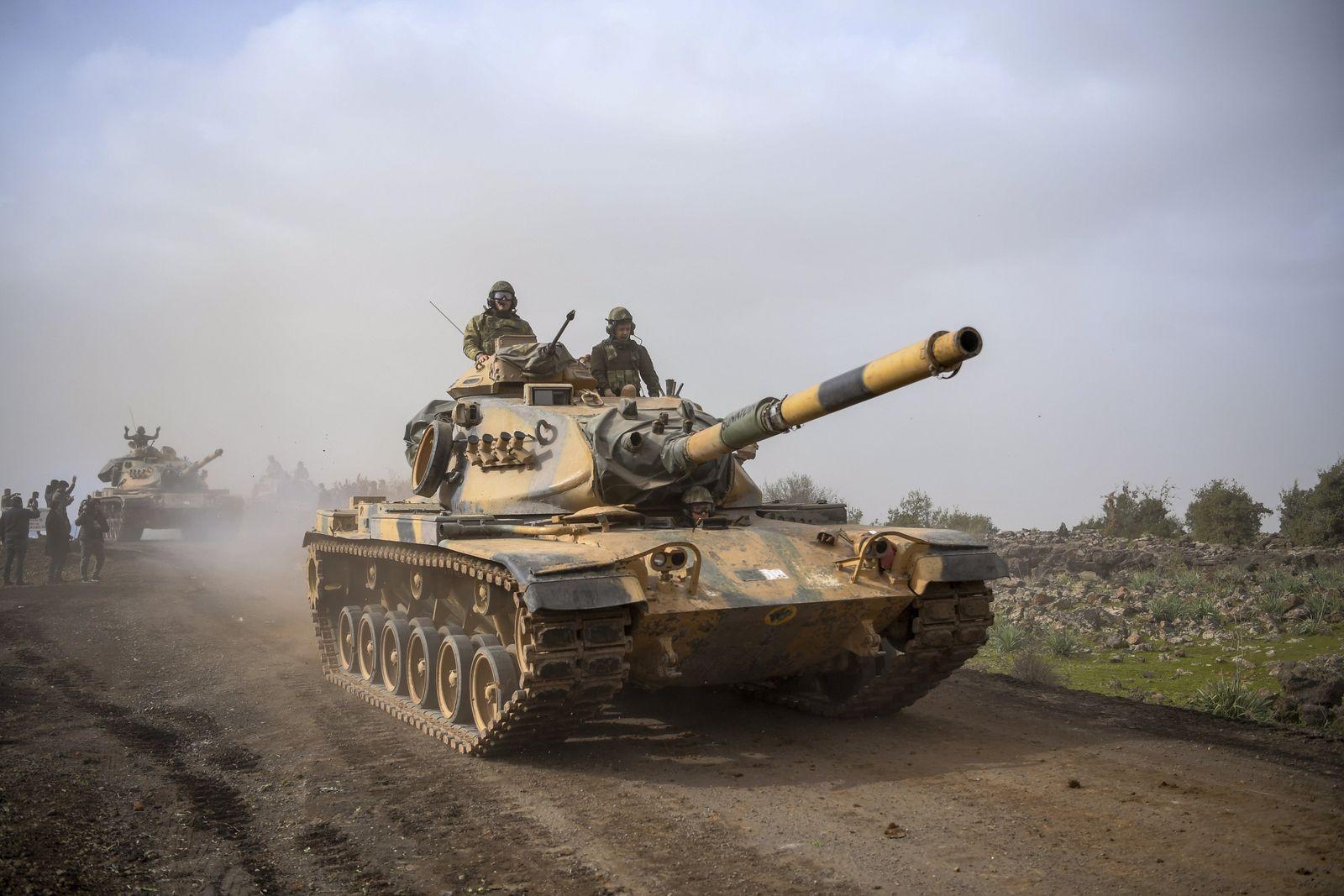 Türkei/ M60-Panzer